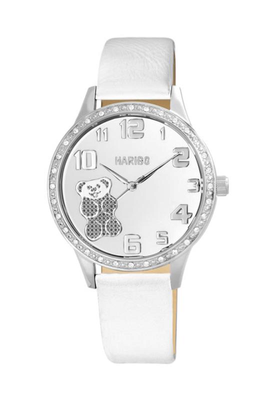 Trendi fehér Haribo női karóra HA4004TR