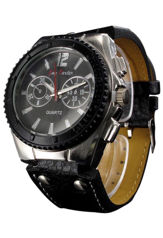 Jay Baxter fekete chronograph férfi karóra JB4269CH