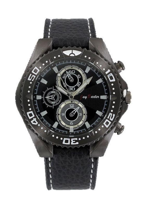 Jay Baxter fekete chronograph férfi karóra JB4272CH