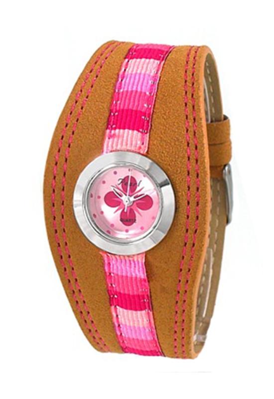 Trendi Pearl bézs-pink női karóra PE3713EX