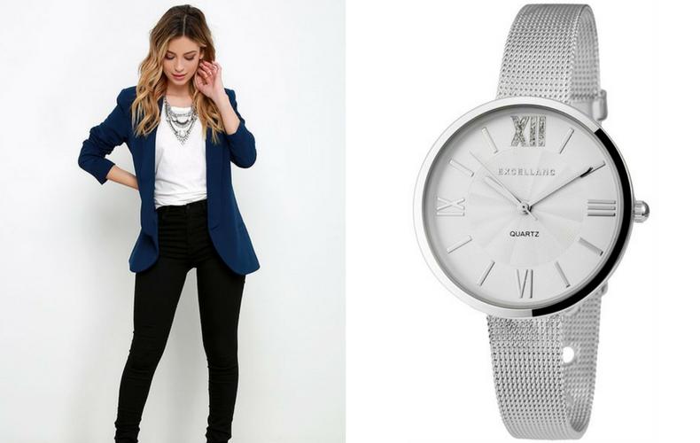 Ezüst színű órák vonzó viselet a legkülönfélébb alkalmakra